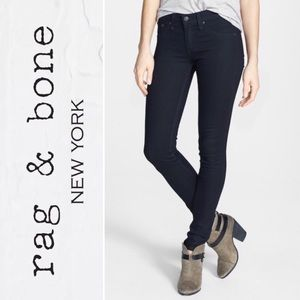 rag & bone Dark Wash Legging Jeans Size 26